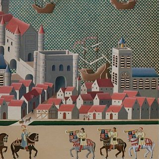 London in 1511 detail